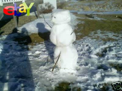 雪だるま 雪ダルマ 魂 イーベイ ebay