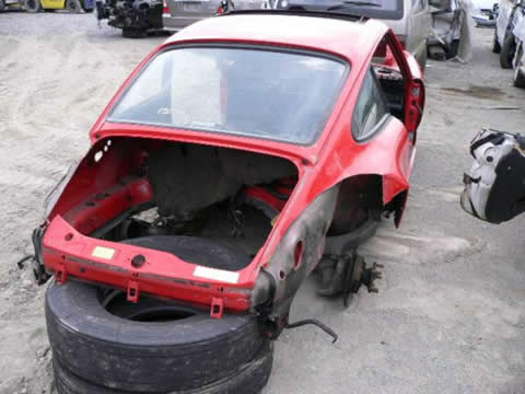 964 ポルシェ 911 カレラ 事故車 部品ばら売り 書類完備!!20
