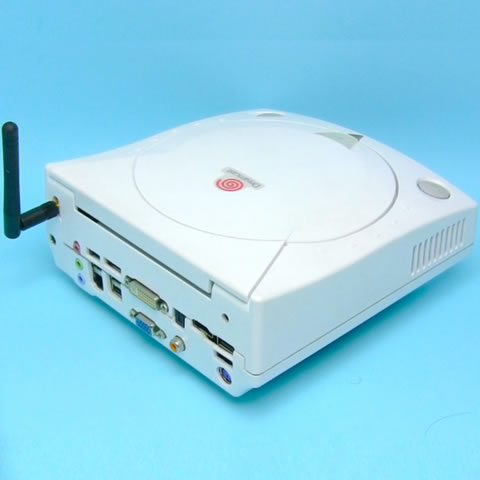 Dreamcast型自作PC Core 2 Quad Q9550s:フルセグ:Windows7仕様