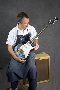 Rei - Stratocaster 【FenderU.S.A.+EVANGELION コラボモデル】