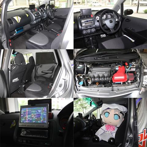 クドわふたー痛車 Key (ホンダ/HONDA FIT)