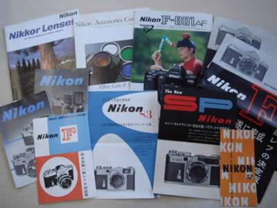 6★ 古いカメラカタログまとめて11枚★ニコン★Nikon