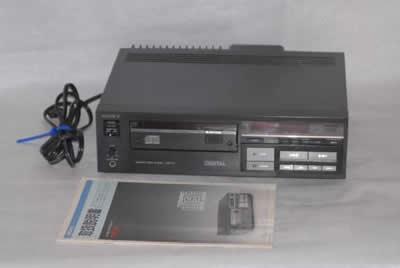 SONY ソニー CDプレイヤー初代機 CDP-101 ジャンク