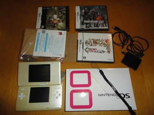 【今さら】Nintendo DS 箱ソフト3個付き【初期型】