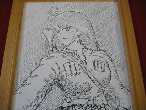 風の谷のナウシカ ジブリ 宮崎駿先生 直筆サイン色紙 トトロ